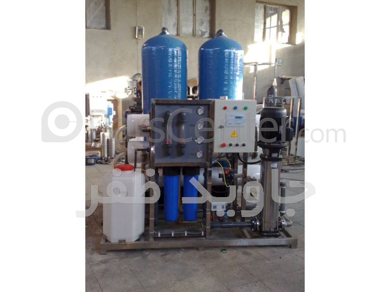 سیستم تصفیه خانه و آبشیرین کن (RO)