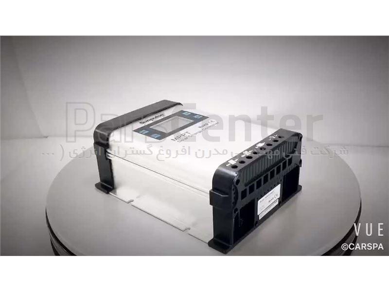 کنترل شارژر خورشیدی CARSPA MPPT 10