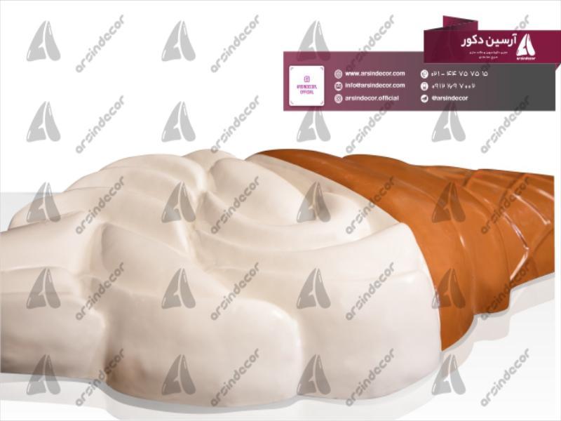 طراحی و ساخت ماکت دیواری بستنی خامه ای