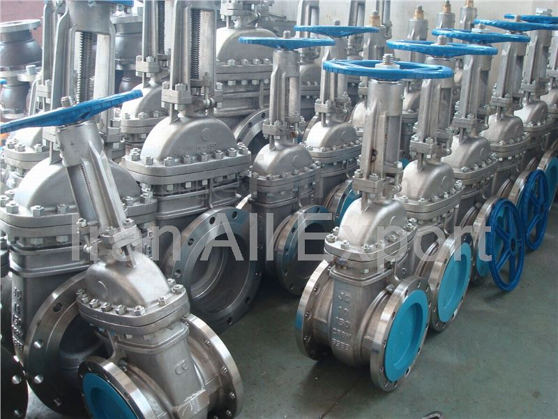 Gate Valves from Iran to Turkmenistan