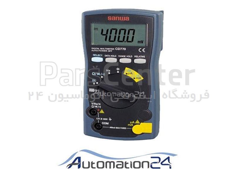مولتی متر دیجیتال سانوا مدل CD770