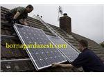 نصب و راه اندازی برق خورشیدی(پنل خورشیدی)