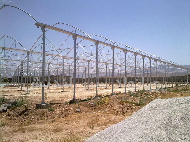 انواع سازه گلخانه