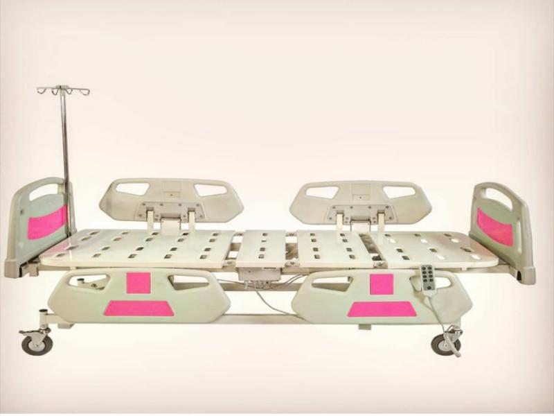 تخت برقی نگهداری بیمار و سالمندان سه شکن