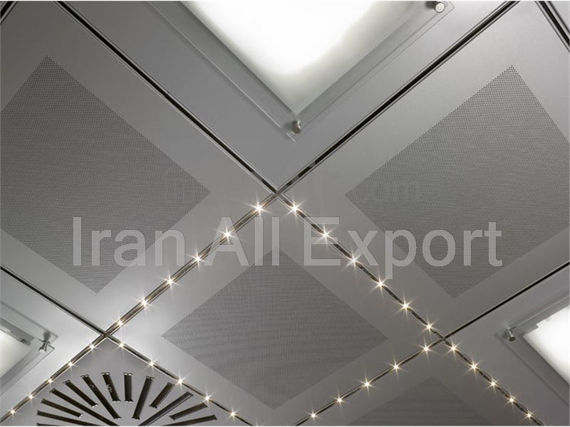 Ceiling Aluminum Tile From Iran to Turkmenistan