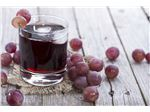 Red grape juice concentrate, packed in 265 kg metal drums