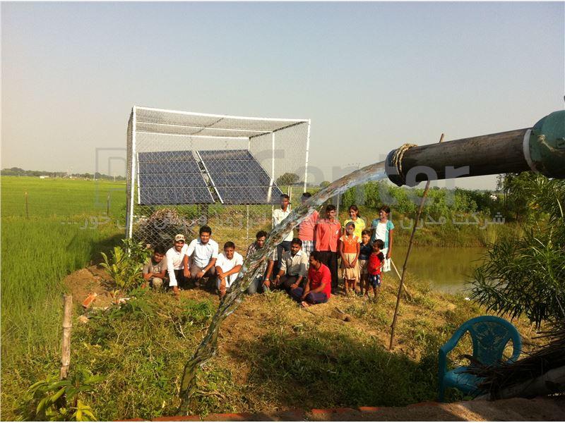 پمپ خورشیدی 1 اینچ  33 متری