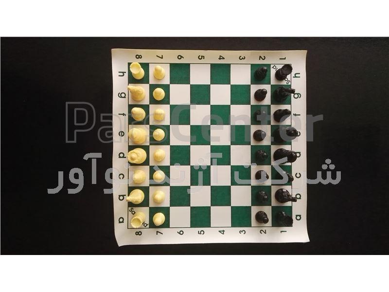 مهره و صفحه شطرنج ، صفحه و مهره شطرنج استاندارد مسابقاتی