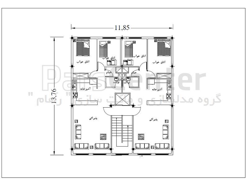 خدمات نقشه کشی و طراحی نمای ساختمان