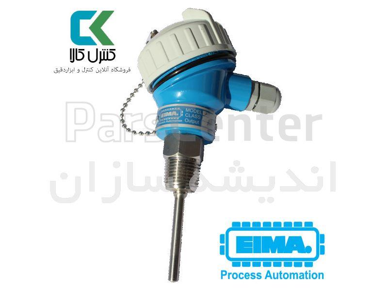 سنسور دمای PT100 به همراه ترانسمیتر