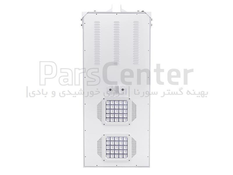 لامپ روشنایی هوشمند پارکی (خیابانی) خورشیدی 80 وات مجهز به ریموت کنترل