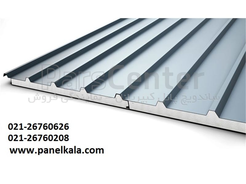 نصب ساندویچ پانل پوشش سقف سوله