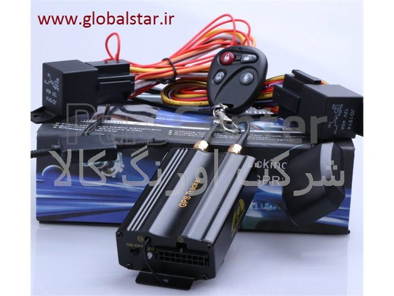 جی پی اس ردیاب خودرو دزدگیر ماهواره ای TK 103 B