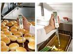 سنجش کیفیت و سلامت روغن سرخ کردنی در آشپزخانه ها، رستوران ها و فست فودها با استفاده از دستگاه تست روغن TESTO 270