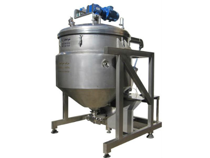 شیر صنعت آرتا سازنده مخازن استیل ، پروسس تانک ، میکسرهموژنایزر تحت خلاء ،مخازن ذخیره آب