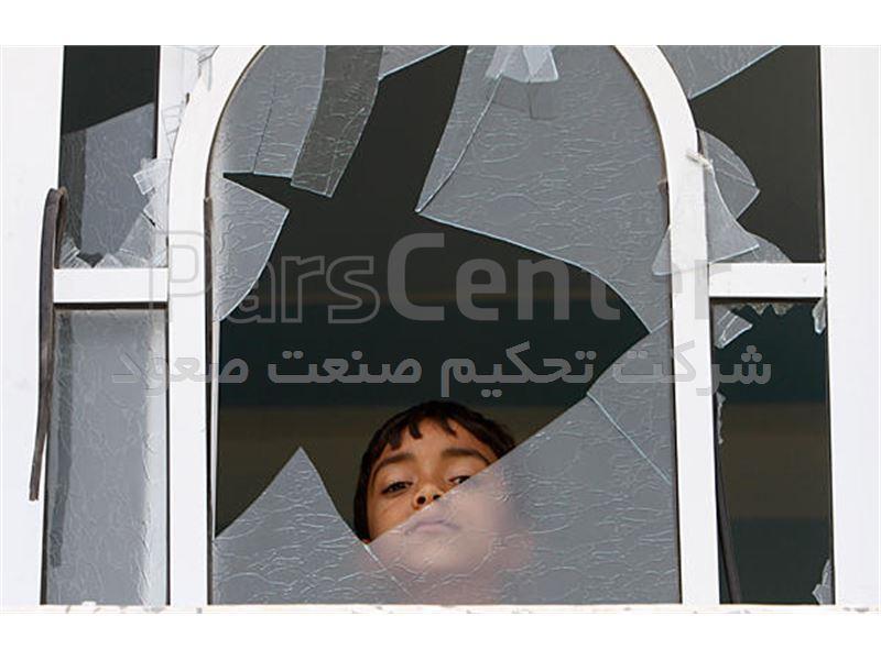 تعویض و نصب شیشه پنجره های نمای ساختمان