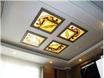 سقف کاذب شیشه ای در آشپزخانه و سرویس بهداشتی ، پروژه اختیاریه شمالی