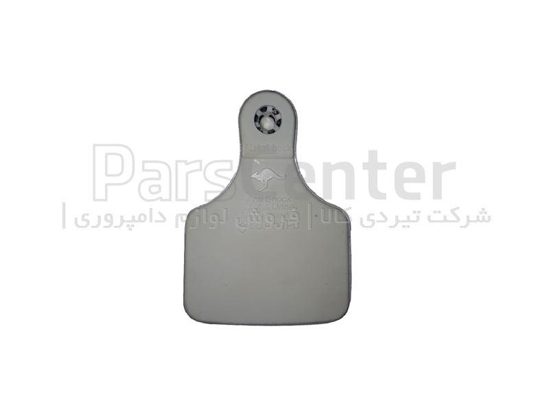 شماره گردن شترمرغ قفل دار کوچک سفید