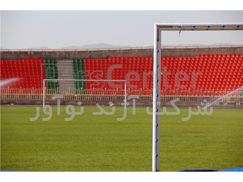 تیر دروازه فوتبال استاندارد آژندنوآور مدل 1F0041
