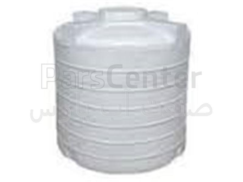 مخزن پلی اتیلن 600 لیتر عمودی پلاستونیک