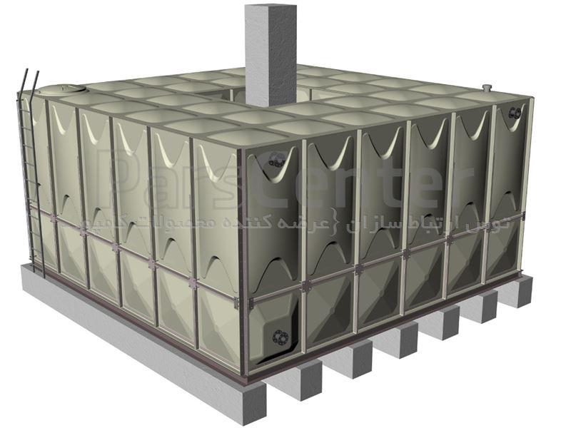 مخازن کامپوزیت GRP/SMC آب شرب