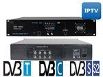 تلویزیون هتلی HEADEND DVB-S2 به DVB-C و IPTV