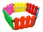 استخر توپ وپارک کودک 6 ضلعی رنگی قیمت مراجعه به  piccotoys.com