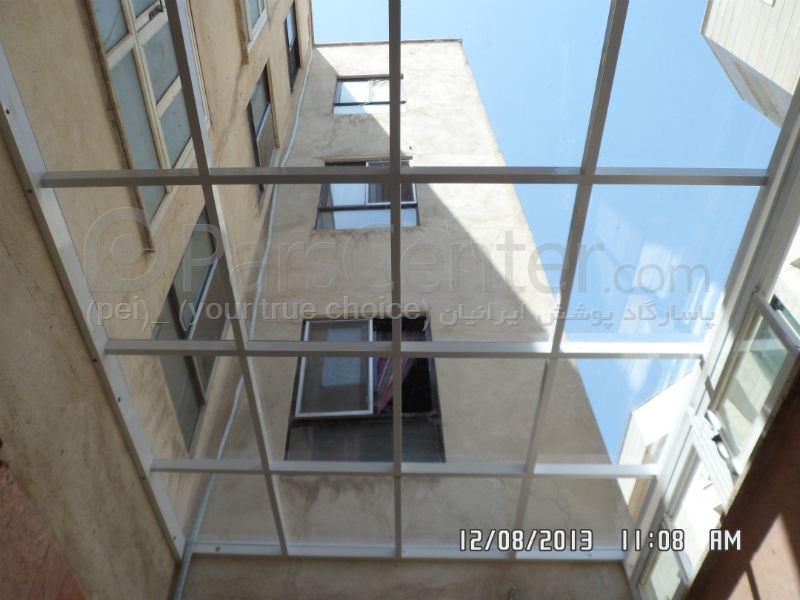 (Patio Roof) سقف پاسیو (تمام شیشه ای ) 397