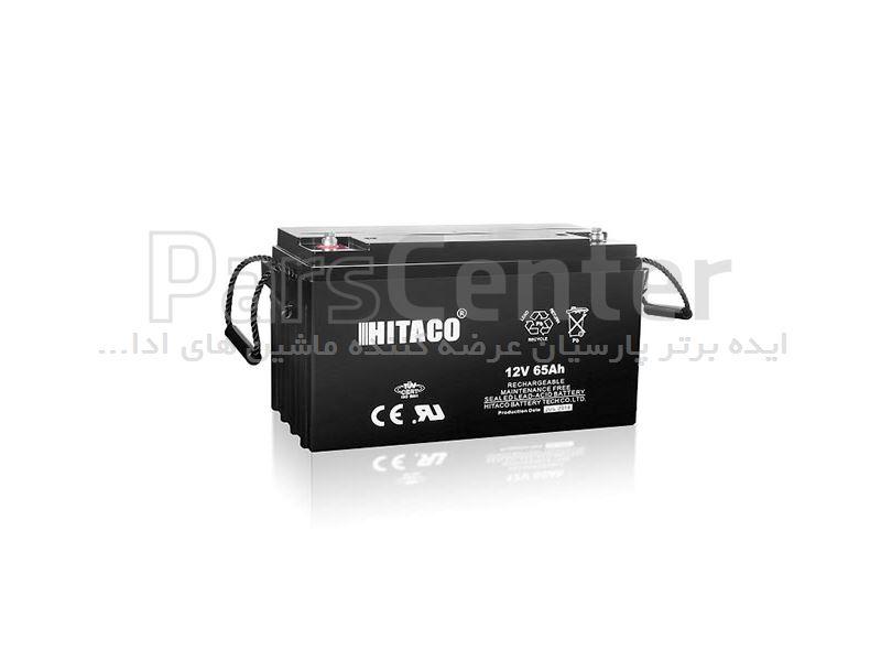 باتری هیتاکو 12 ولت 65 آمپر Hitaco