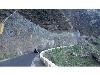 اجرای ایمن سازی جاده های صخره ای در برابر ریزش سنگ