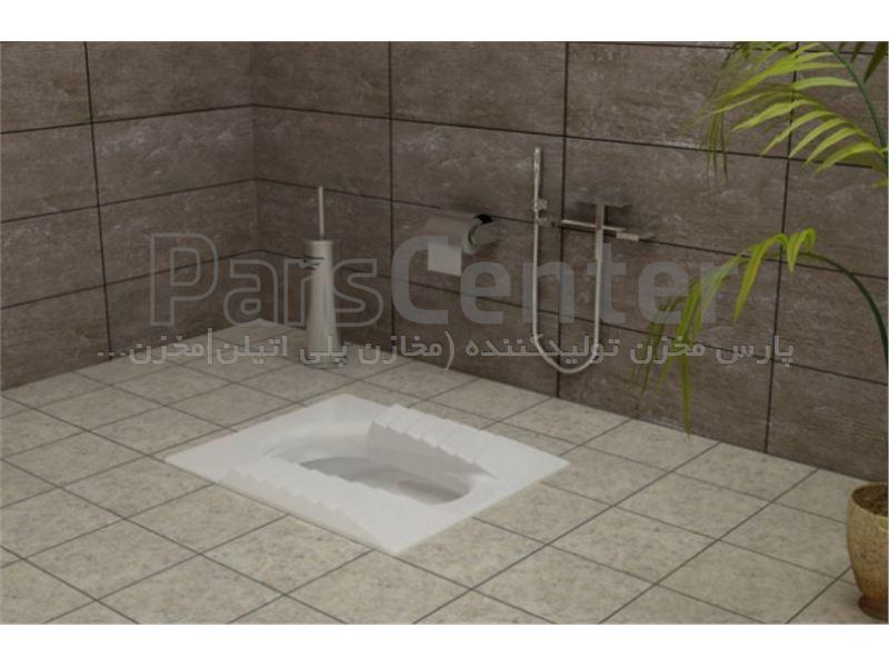 توالت زمینی مدل مارانتا گلسار فارس