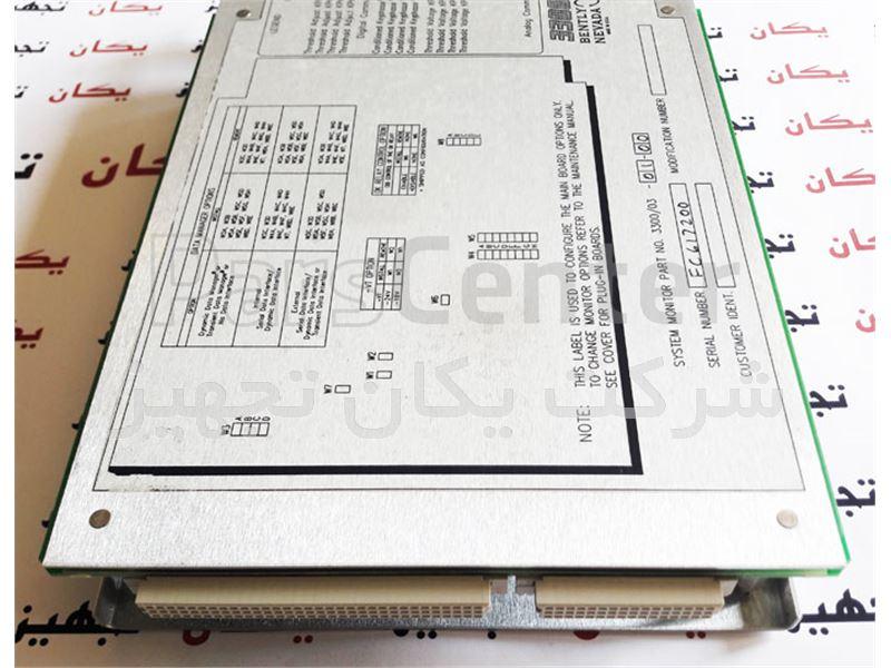 فروش و تامین کارت مانیتورینگ بنتلی نوادا  Bently Nevada 3300/03 System Monitor PWA 87890-01