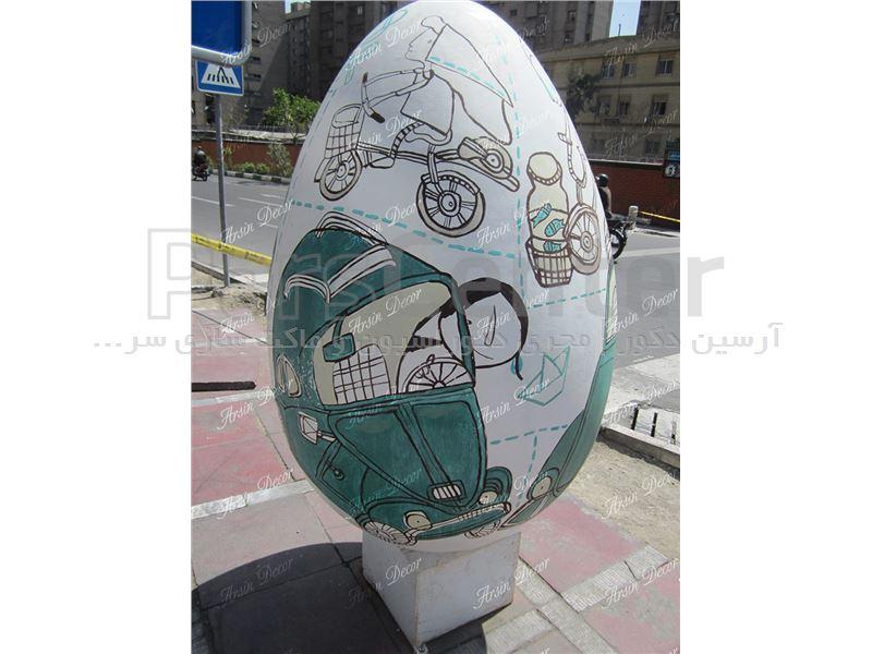 ماکت تخم مرغ هفت سین