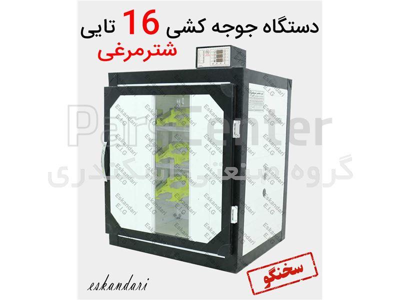 دستگاه جوجه کشی 16 تایی شترمرغی سوپر مینیاتور