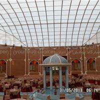 پوشش حیاط _ شبستان _ محوطه هتل