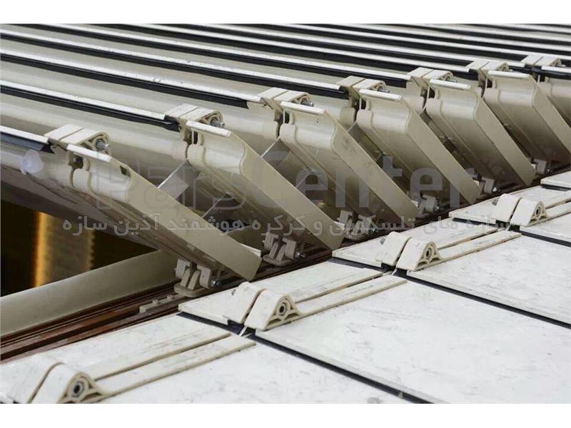 سقف برقی پنل آلومینیومی