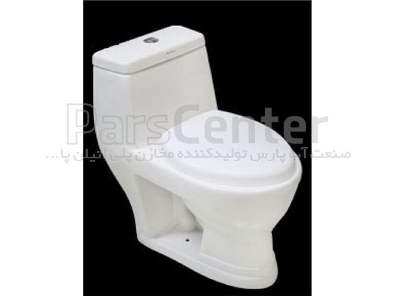 توالت فرنگی مدل نگین - درب آرام بند