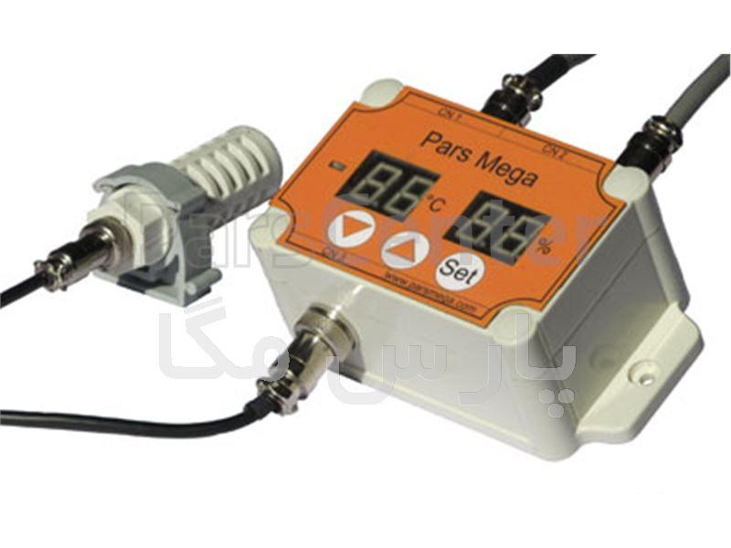ترانسمیتر و نمایشگر دما و رطوبت PM-HT01