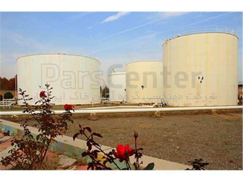 ساخت مخزن ذخیره سیالات با ورق ژئوممبران، انبار نفت ری