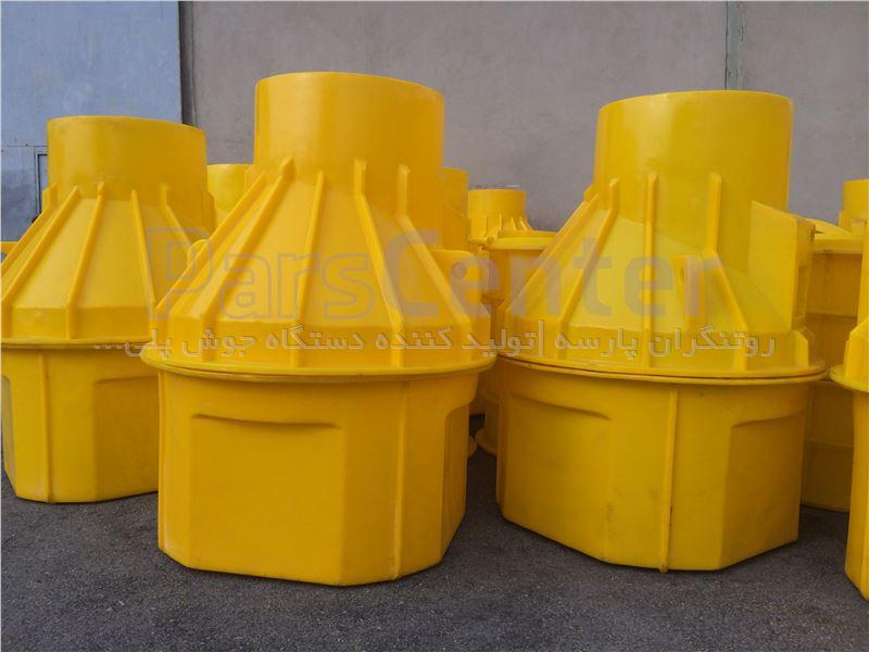 منهول پلی اتیلن قطر 1000 میلیمتر