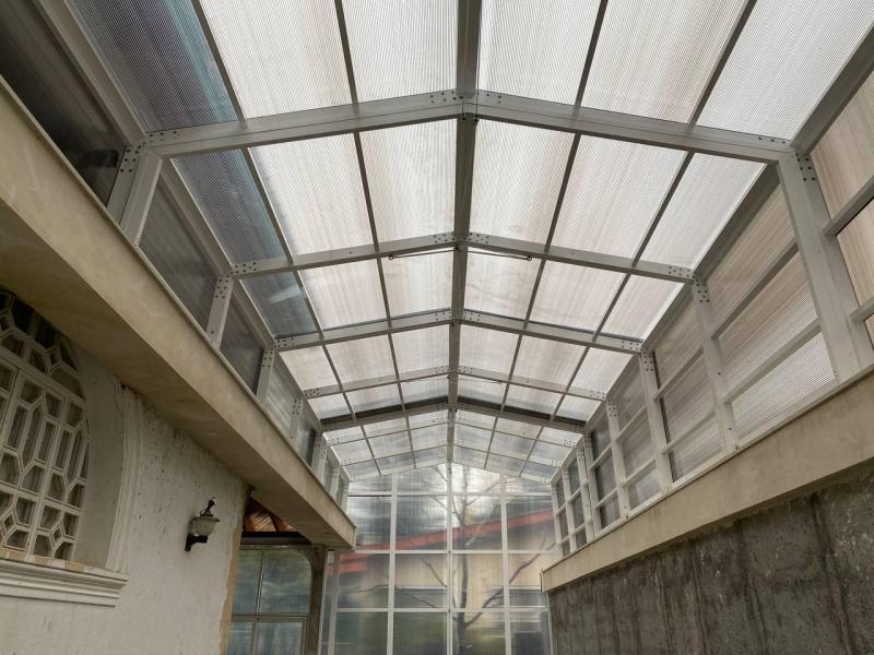 سقف استخر - کلاردشت - حسن کیف
