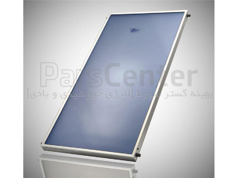 ابگرمکن خورشیدی کلکتور صفحه تخت 80 لیتری با لوله های گرمادیدهfalat plate