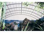 پوشش سقف نورگیر با اشکال هندسی گوناگون