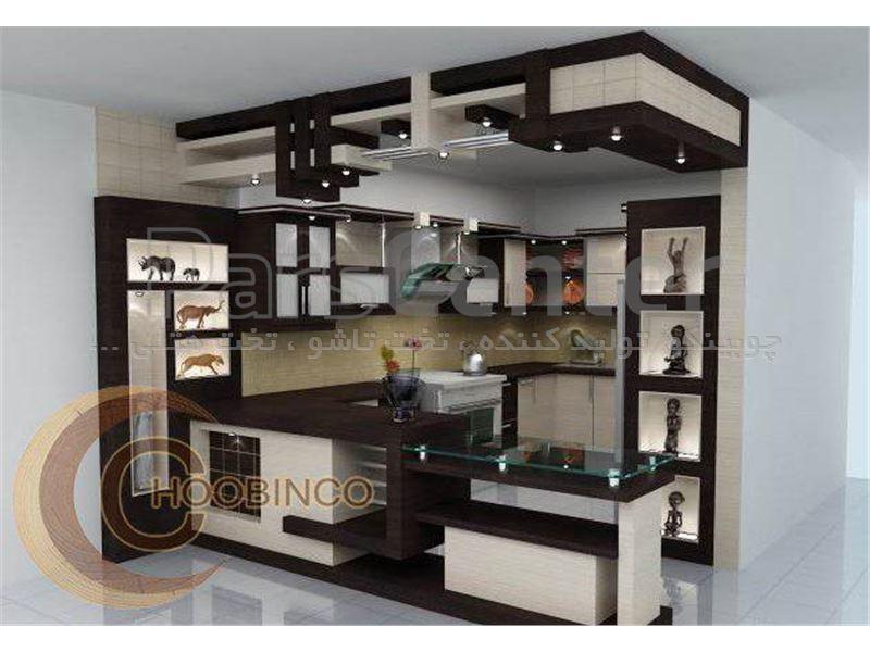 کابینت آشپزخانه و مصنوعات ام دی اف کمجا چوبینکو - مدل k16