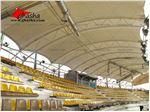 پوشش سقف استادیوم-سازه پارچه ای سقف ورزشگاه