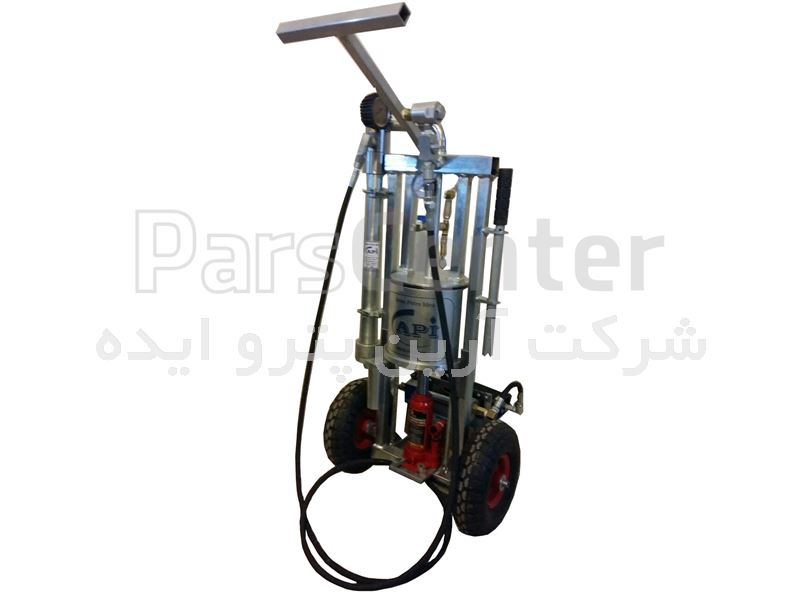 گریس پمپ سطلی هیدروپنوماتیک  (power 8)