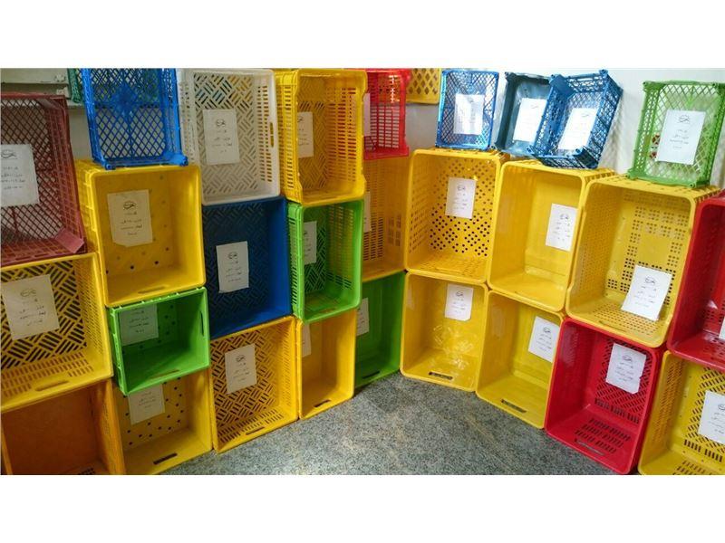 شایان اعتماد-تولیدکننده سبدوجعبه پلاستیکی