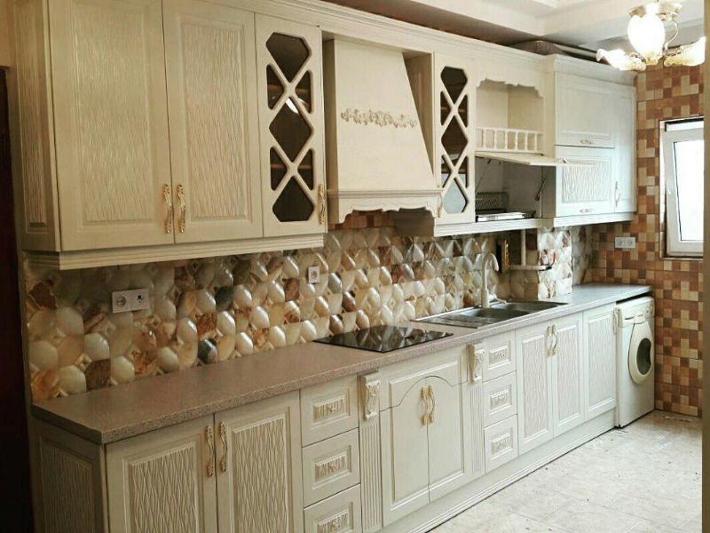 انواع کابینت آشپزخانه  ام دی اف / کابینت ممبران / کابینت های گلاس