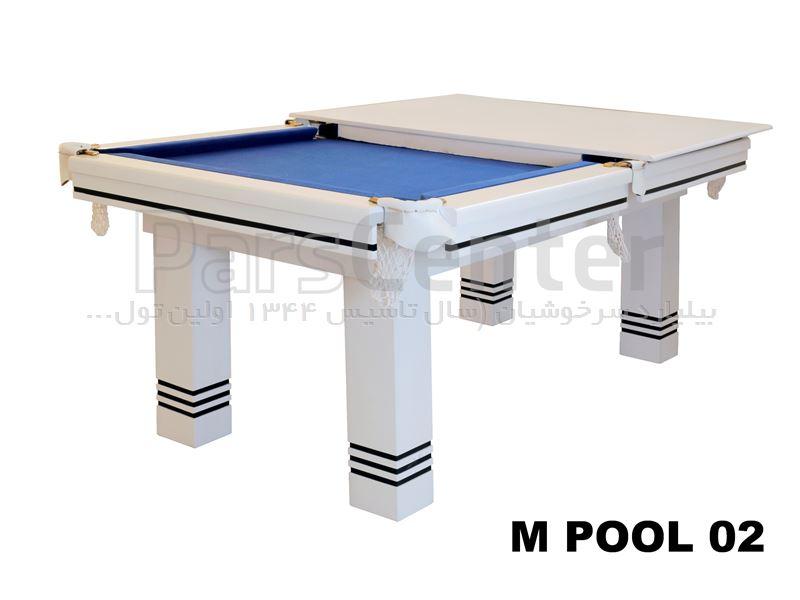 میز ایت بال بیلیارد سرخوشیان M.POOL – 02