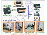 مبدل ولتاژ برق ماشین به برق شهر 1500 وات ( مبدل برق ماشین) - کانورتر